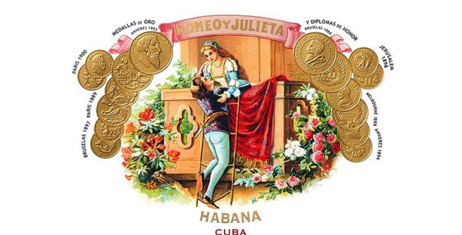 cuban habanos inspired by Shakespeare